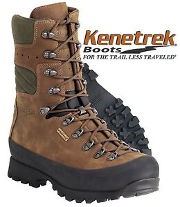 Men's Kenetrek Mountain Extreme 400 Waterproof Boots Insulated Hunting Hiking