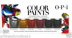 OPI Colors Paints Mini Kit quot;NEWquot; buy 2 get 3 instead of 2 Free Shipping USPS $8.35