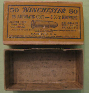 1872 Dated Winchester Arms Company Amo Box