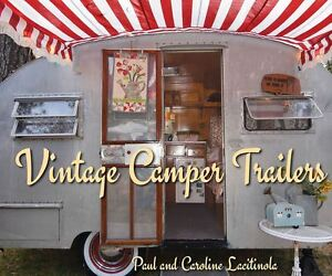 Vintage Camping RV Trailers Retro Airstream Travel Photo Classic Book