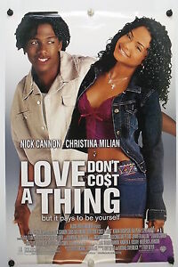 LOVE DON#x27;T COST A THING Original Movie Poster 2003 Rolled DS C9 C10 $38.00