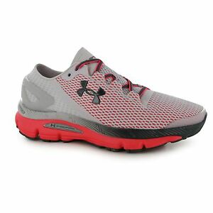 Under Armour Speedform Gemini Running Shoes Womens GreyPink Trainers Sneakers