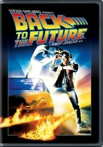 Back to the Future New DVD Snap Case