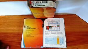 Microsoft Office 2007 Small Business SKU W87-02380 Retail Word ExcelOutlook