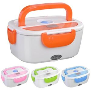 1.5L Electric Lunch Box Food Warmer Car Heater Container Travel Heating Storage