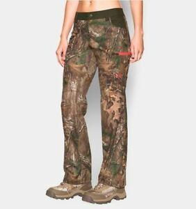 Under Armour Women 8 Scent Control Hunting Pants Early Season Speed Freek Camo