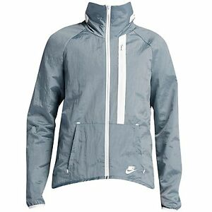 $180.00 699882-088 Nike Women Tech Moto Cape (grey  white)