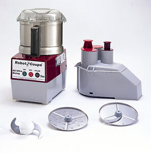 Robot Coupe R2N ULTRA Combination Vegetable Prep & Vertical Cutter-Mixer SS Bowl
