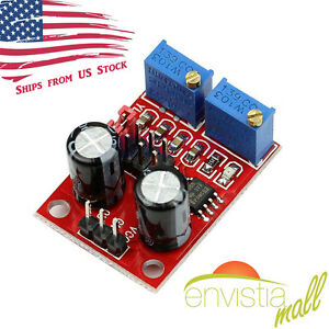 NE555 Duty Cycle Frequency Adjustable Square Wave Signal Generator Board Module $4.89