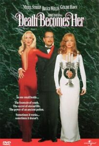 Death Becomes Her New DVD Keep Case Packaging $9.19