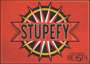 Fantastic Beasts Stupefy 2 1/2 in. x 3 1/2 in Magnet