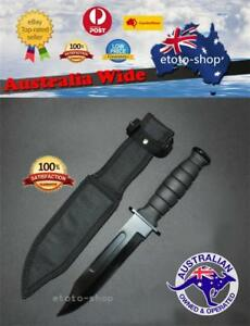 Sharp Pig Tactical Bowie Survival Camping Hunting Knife Partially Serrated