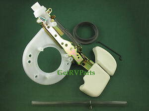 Thetford 33186 Aurora RV Toilet Lower Mechanism Bone White