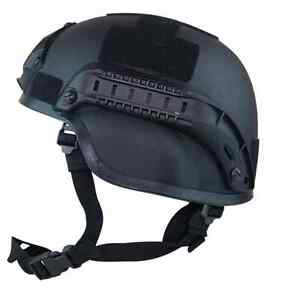 Valken Tactical Airsoft Helmet  MICH W Rails and Mounts Black -  FREE SHIPPING