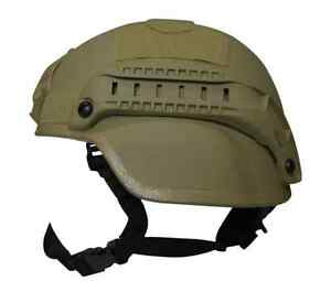 Valken Tactical Airsoft Helmet  MICH W Rails and Mounts Tan -  FREE SHIPPING