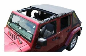 Fold Back Soft Top 2-Door for Jeep Wrangler JK 2007-2018 Rough Trail RT10735T
