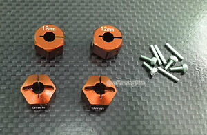 Alloy Hex Adapter 12mm x 9mm for HPI Mini Savage XS Flux $14.99