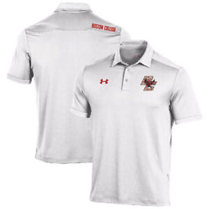 Under Armour Boston College Eagles White Special Event Polo