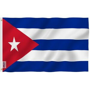 Anley Fly Breeze 3x5 Foot Cuba Flag Cuban National Flags Polyester