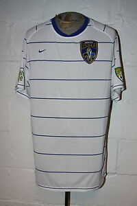 EUC Nike Dri Fit USL River City Rovers Striped Soccer Jersey Shirt Sz XL