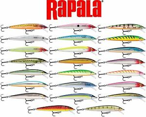 Rapala Husky Jerk Bass Muskie Pike Striper Fishing Lure 3 18