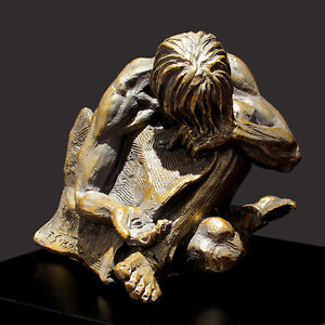When I Was Naked Christian Sculpture by Timothy Schmalz (NEW)