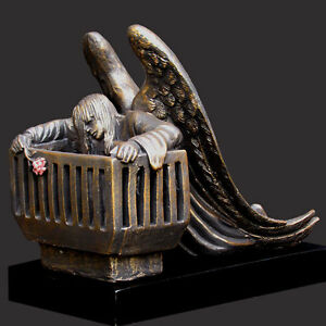 I Knew You In The Womb Christian Sculpture by Timothy Schmalz (NEW)