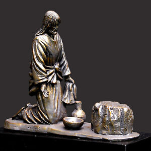 He Comes To Serve Christian Sculpture by Timothy Schmalz (NEW)