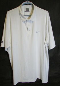 Nike - Tiger Woods WGC Dubai 2008 Golf Shirt - Fit Dry - Men's XL