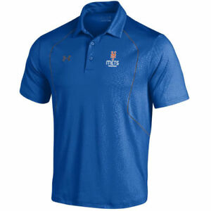 Under Armour New York Mets Royal Apex Performance Polo
