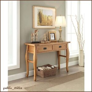 Southwest Furniture Console Table Distressed Rustic Living Room Country Cabin $169.51