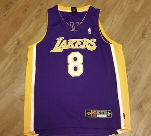 LA lakers jerseynike basketball jerseynike authentic size 48nike dry fit KOBE