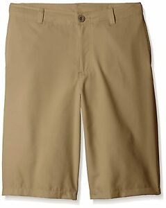 Under Armour Medal Play Golf Shorts Boys L Large YLG KIDS Canvas