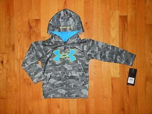 NWT Under Armour Toddler Boys hoodie Size 2T