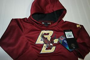 Boston College Under Armour Hoodie Sweatshirt Toddler Size 18M New Tags Eagles