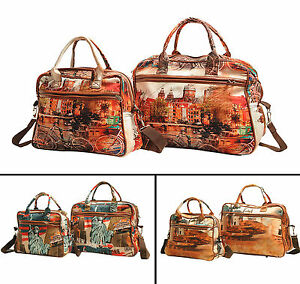 Digitally Printed Designer Polyester Women Fashion Satchel Shoulder Bag Handbag