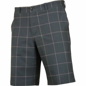 Nike Dri-Fit Print BlackDark GreyWolf Grey Golf Shorts