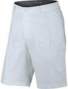 Nike Tiger Woods TW Practice 2.0 Men's Golf Short 726226 100 White Size 34 NWT
