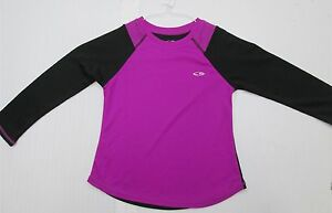 new CHAMPION J938 Girls' Youth Size XS4-5 Semi-Fitted Duo Dry Max Black Shirt