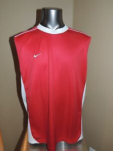 Kids XL Nike Fit Dry Shirt Red Sleeveless Athletic Wear Nike Fit Extra Large