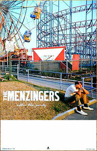 THE MENZINGERS After The Party Ltd Ed RARE New Tour Poster +FREE Punk Poster!