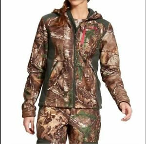 Under Armour Womens Camo Ayton Hoodie Jacket STORM Realtree Xtra XL  X Large