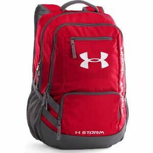 Under Armour Hustle Backpack II - Red - 1263964-600