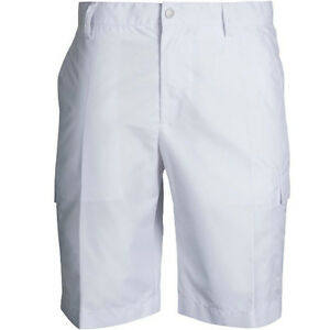 NEW J LINDEBERG GOLF ESSENTIALS LAWRENCE REG MICRO TWILL WHITE SIZE: 38