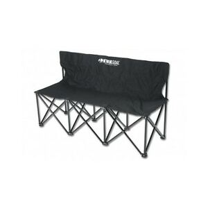 Portable Folding Bench Lightweight 3 Seater Chair Outdoor Sporting Goods Camping