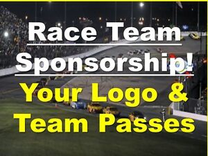 SONOMA- NASCAR Cup Team Sponsor for 2 PEOPLE- Passes Decals Shirts Lunch...