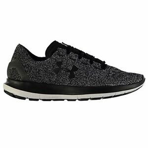 Under Armour SpeedForm Slingride Running Shoes Mens GreyBlk Trainers Sneakers