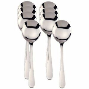 Stainless Steel Soup Spoons $17.99