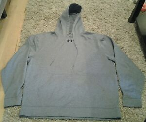 Under Armour mens gray hoodie size XL !