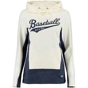 Under Armour Baseball Hall of Fame Women's Tan Cowl Neck Performance Hoodie